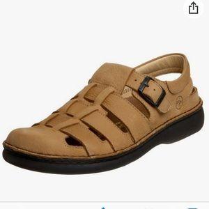 BIRKENSTOCK FOOTPRINT Leather Merced Sandals